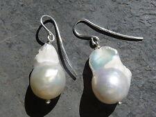 Boucles d'oreilles argent 925, perles d'eau douce