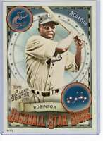 Jackie Robinson 2019 Allen and Ginter Baseball Star Signs 5x7 #BSS-36 /49 Dodger