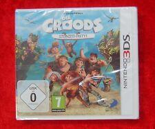 Die Croods Steinzeit-Party, Nintendo 3D 3DS Spiel, Neu, deutsche Version