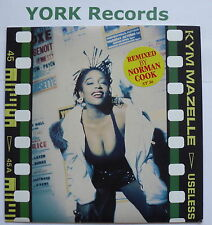 """KYM MAZELLE - Useless *NORMAN COOK RE-MIX* - Ex Con 7"""" Single Syncopate SY 36"""