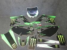 Kawasaki KXF250 2013-2016 D Cor Monster Energy Grafiche + Kit Plastiche GR018