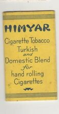 Himyar Cigarette Tobacco Turkish and Domestic Blend Rolling Papers in Package