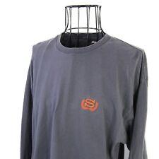 Vintage Stussy Big Back S Graphic Long Sleeve Shirt Mens XL 90s