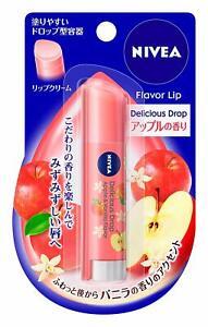 ☀Nivea flavor lip lip Delicious Drop Apple scent 3.5 g F/S