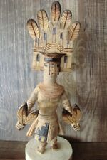 Native American Indian Handmade Hemis Dancer Kachina  Platero