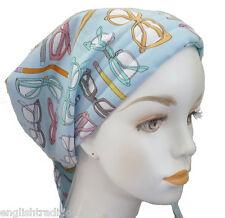 Fun Chemo Cancer Hat Alopecia 100% Cotton Hair Loss Scarf Turban Head Wrap