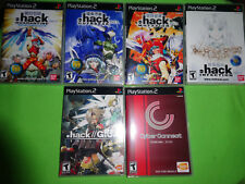 EMPTY CASES!  dot HACK / .hack// OUTBREAK infection Part 1-4 Playstation 2 PS2