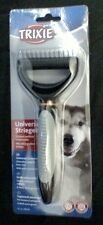 Trixie Universal Curry Comb Long Haired Pets Thinning & Unmatting Dog Cat Brush