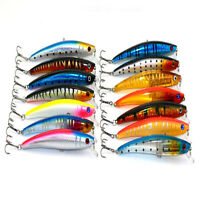 14pcs/set 11.5cm 11g Hard lure Minnow Fishing lures Bass Fresh Salt water lures
