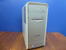 Sony Vaio Pcv-Rs620G Pcv-2252 Tower Pc Intel P4 Ht 3.0Ghz 2Gb 160Gb