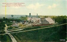 Birdseye Portland Cement Plant C-1910 Factory Industry Missouri Exelsior 10209