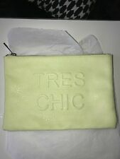 Miss Selfridge TRES CHIC Yellow Clutch / Purse /Bag