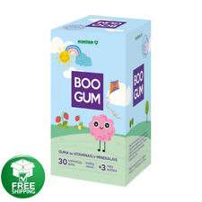 BOO GUM, 30 chewing gums with vitamins and minerals. For children 3 +