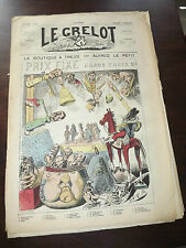 journal Le Grelot Numéro 39 du 7 /01/ 1872 ( LA BOUTIQUE A TREIZE )