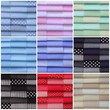 "fabric patchwork squares cotton quilting craft 30 x 4"" 10cm blenders basics L"