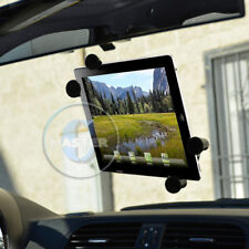 CAR MOUNT TABLET GLASS SUCTION HOLDER FOR iPAD AIR MINI PRO TAB NOTE NEXUS 7-10""