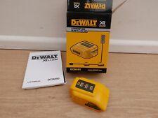 BRAND NEW DEWALT XR DCB090 USB 10.8V 14.4V 18V BATTERY CHARGER ADAPTOR