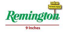 Remington Gun Hunting Rifle Green Decal/Sticker Die Cut NRA Rights GN69