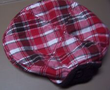 NWT GYMBOREE GINGERBREAD BOY PLAID DRIVER WINTER HAT 6-12 mo  Free US Shipping