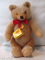 "❤STEIFF ORIGINAL TEDDY BEAR 14"" 0201/36 IDs JOINTED HONEY VNTAGE 1968-90 MOHAIR❤"
