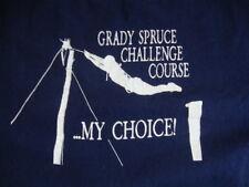 Vintage Dr. Pepper 7UP Grady Spruce Challenge Blue T Shirt Mens Size L