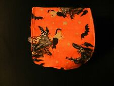 """Dog Puppy Belly Band Wrap Contoured Diapers Male Puppy Flannel lined 17.5"""" WITCH"""