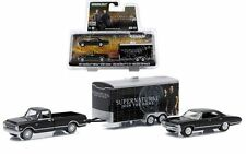 GREENLIGHT CHEVROLET SUPERNATURAL JOIN THE HUNT TRACK & TRAILER 1:64 CAR 51006