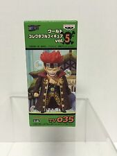 ONE PIECE World Collectible Pirate Captain Kid Figure vol.5 TV35