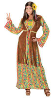 Happy Hippie Mujer Disfraz para mujer nuevo - mujer Carnaval Revestimiento Kos