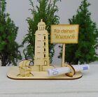 Für deinen Wunsch Personalisiert Leuchtturm Holz Geldgeschenk Männer Strand
