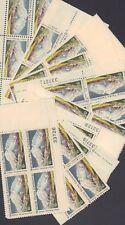 {Bj Stamps} 1454 Mt. McKinley, Alaska. 25 Mint 15¢ Plate Blocks. Issued 1972