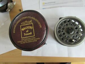 "excellent  vintage youngs daiwa 813 1540 expert salmon fly fishing reel 4.25"" /"