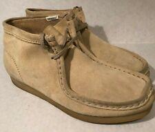 Duck Head Mens Tan Cow Suede Wallabee Shoes Size 6.5 Beige 371237