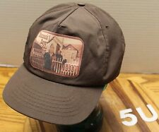"VINTAGE 1998 ""BANNACK DAYS"" MONTANA HAT BROWN SNAPBACK ADJUSTABLE VGC"