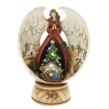 Roman Led Angel Over Nativity
