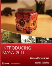 Introducing Maya 2011, Dariush Derakhshani 2010 PB 160730
