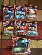 Disney Pixar 1:55 CARS Supercharged Hamm King DJ Ramone McQueen Andretti Sarge