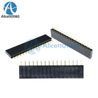 10PCS 16 Pin Single Row Female Straight Header Strip 2.54mm Pitch