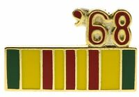 Vietnam 1968 Service Ribbon Hat or Lapel Pin H14796D93