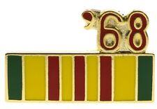 Vietnam 1968 Service Ribbon Hat or Lapel Pin H14796D93