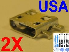 2x Lot of Micro USB Charging Port Sync For Amazon Kindle Paperwhite Ebook USA !