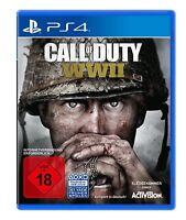 PS4 Spiel Call of Duty WWII World War 2 2. WW2 Weltkrieg PS4 NEU