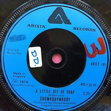 Showaddywaddy - A Little Bit Of Soap / Maybe Maybe maybe - Arista ARIST-191 VG+
