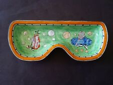 KELVIN CHEN ENAMEL COPPER  EYE GLASS HOLDER GLASSES GOLF TENNIS COIN DISH