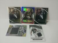 2020 Panini Henry Ruggs III 5X Lot PrizmRed White Blue, Illusions, Absolute RC