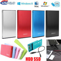 2.5 '' USB 2.0 3.0 Hard Drive Disk Enclosure 5/6Gbps HDD SSD External Case Box