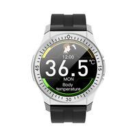 Bluetooth Uhr TW6 HD Display IP68 Wasserdicht Smartwatch Herzfrequenz Blutdruck