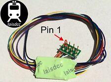 DCC Decoder 4 fn + 8 pin NEM plug Hornby Bachmann etc Laisdcc £10 each for 3+.