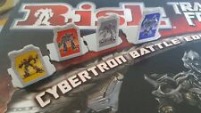 Risk Transfomers. spare parts. Leaders player pieces. Cybertron battle edition.
