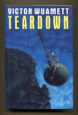 TEARDOWN by Victor Wuamett - 1990 1st Edition in DJ - Fine - Review Copy